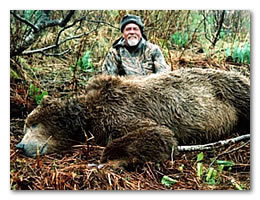 Click here for more information on our Alaska brown bear hunt.