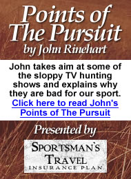 Click here to read John's Points of The Pursuit
