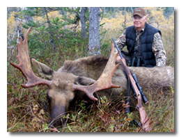 Click here to learn more about our Newfoundland moose hunt.